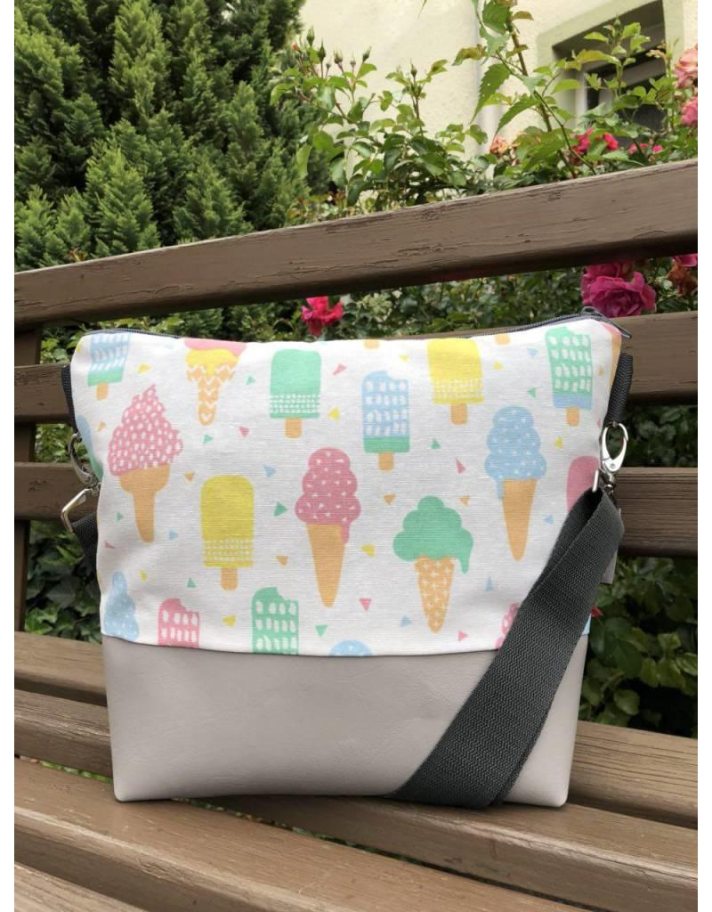 Canvas Big Canvas - Tasche Eis grau
