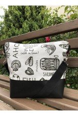 Canvas Big Canvas - Tasche Sardinen schwarz