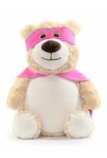 Lucalina Schmusi´s Schmusi - pink Super Hero Bär, ca. 30cm