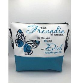 Milow Freundin - mit Schmetterling & Spruch