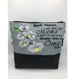 Milow Orchideen mit Mamaspruch