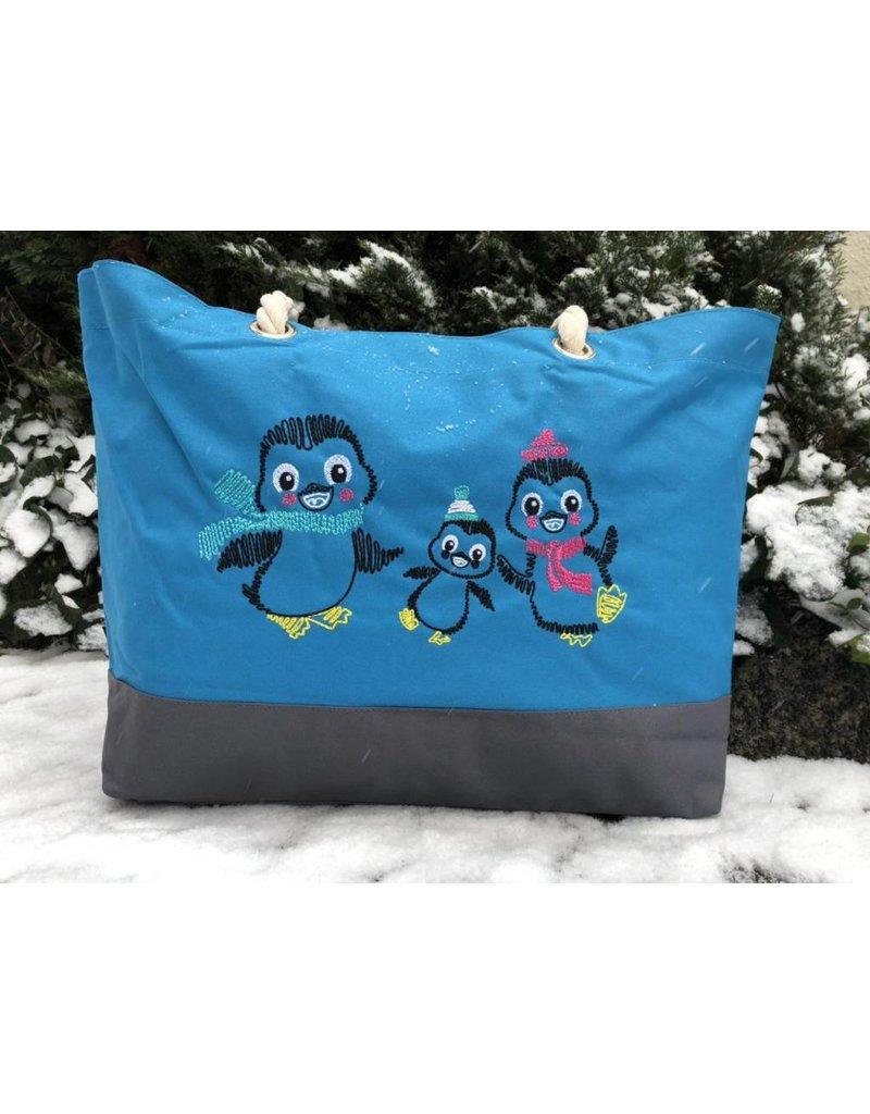 """Shopper """"Pinguinfamilie"""""""