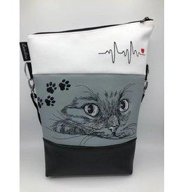 Foldover Katze mit EKG