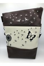 Foldover Pusteblume mit Schmetterling