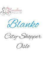 Foldover City-Shopper Oslo *Blanko* personalisiert