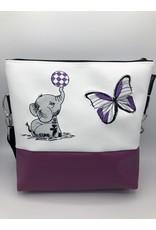 Milow Elefant mit Schmetterling
