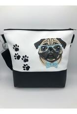 Milow Hund - Mops mit Brille