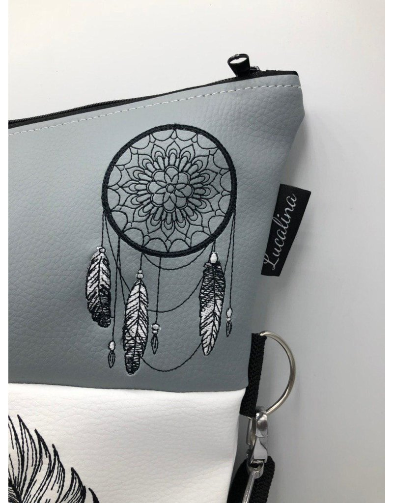 Foldover Dandelion, Feather & Dreamcatcher
