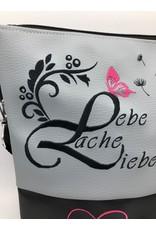 Milow Pusteblume mit Lebe, Liebe & Lache & Herzen