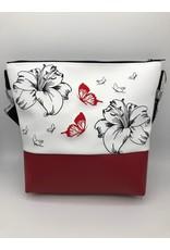 Milow Lilien mit bunten Schmetterlingen