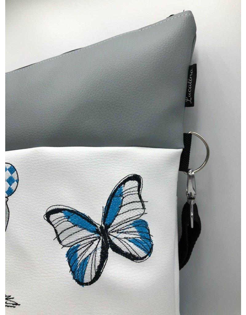 Foldover Elefant mit Schmetterling