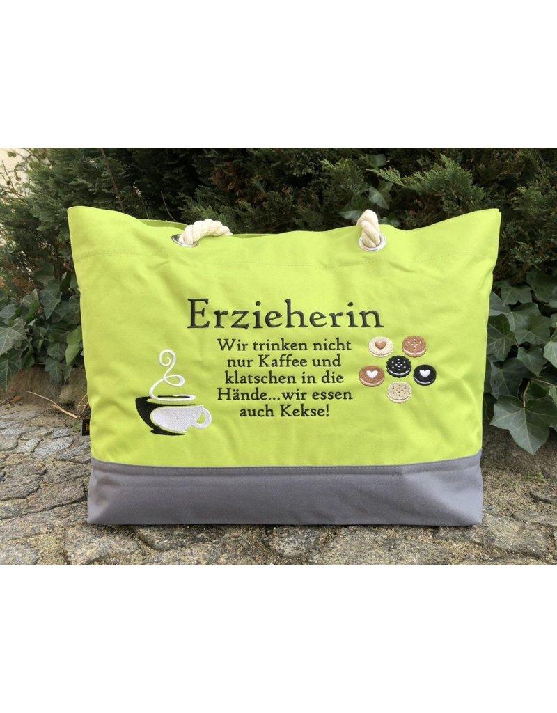 "Shopper ""Erzieherin & Keks"""