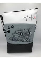 Foldover Set - Katze mit EKG