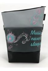 Foldover Music never sleeps