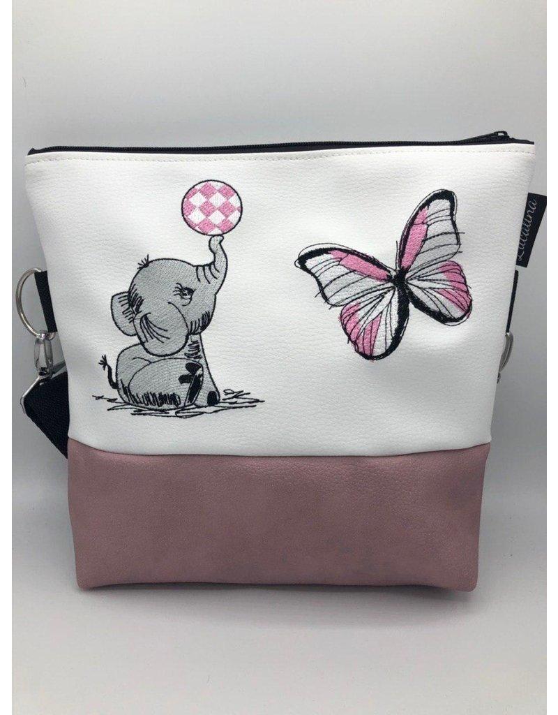 Milow Set - Elefant mit Schmetterling inklusive Geldbörse
