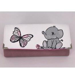 Milow Geldbörse Elefant mit Schmetterling