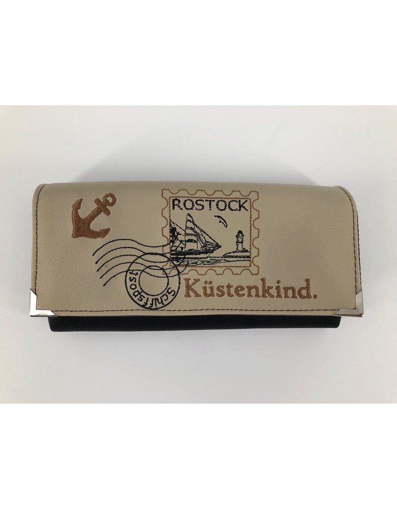 Milow Geldbörse Briefmarke maritim