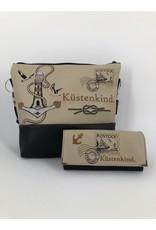 Milow Set - Briefmarke maritim inklusive Geldbörse