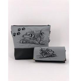 Milow Set -Katze inklusive Geldbörse