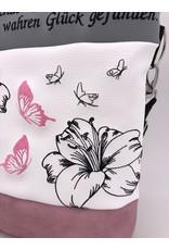 Foldover Lilie mit Schmetterling