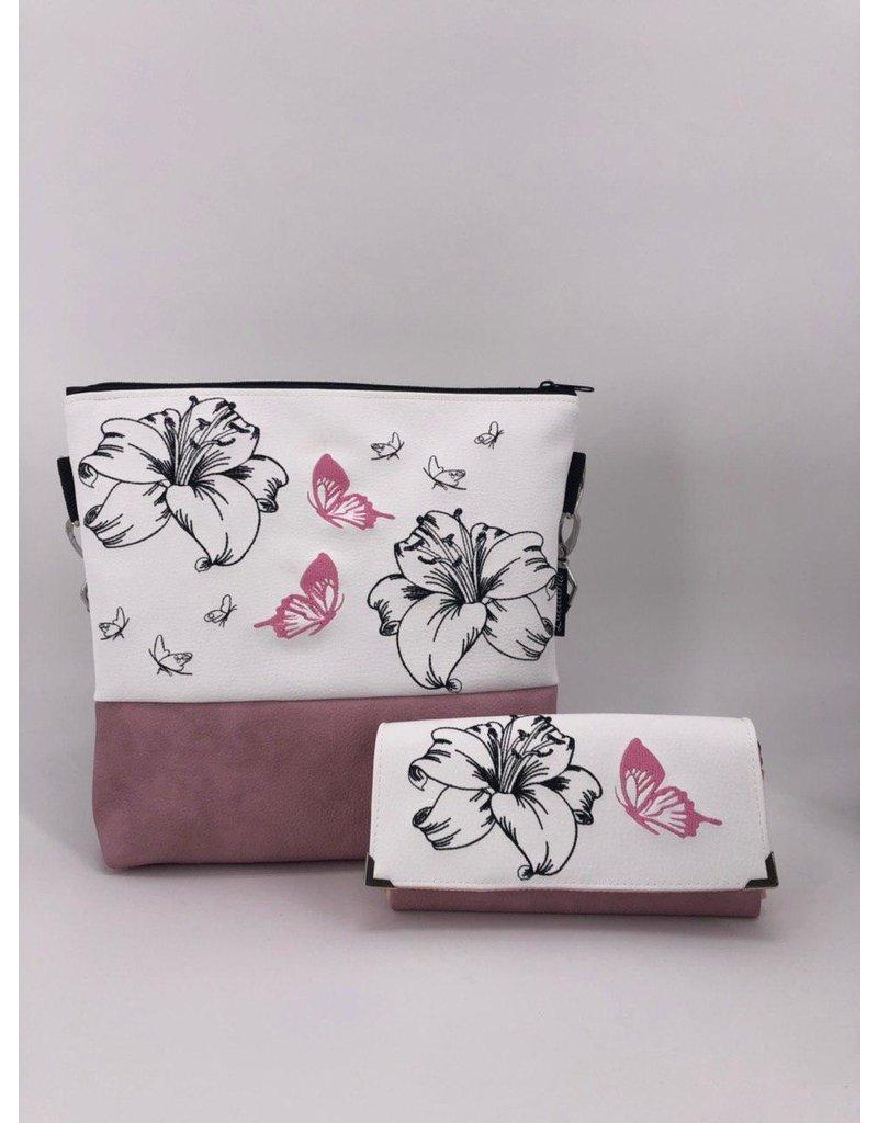 Milow Set - Milow Lilie mit Schmetterling & Geldbörse