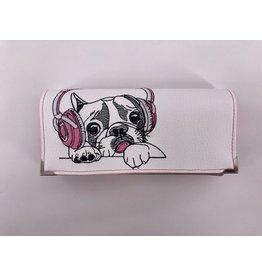 Milow Geldbörse Französische Bulldogge mit Kopfhörern