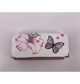 Milow Geldbörse Sterne mit Lilie & Schmetterling