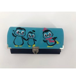 Milow Geldbörse Pinguinfamilie