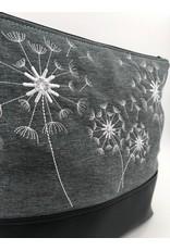 Milow 4 Pusteblumen - weiße Stickerei