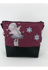 Milow Wintermädchen mit Schneeflocken