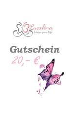Geschenkgutschein 20,- EUR