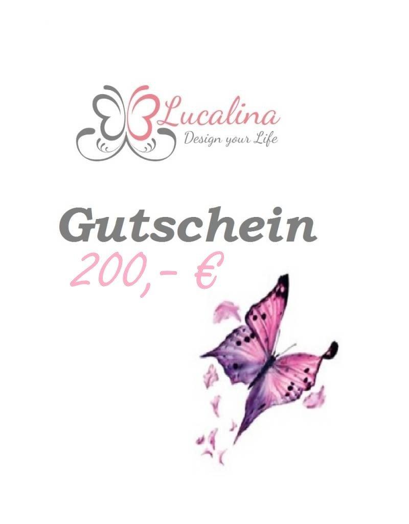 Geschenkgutschein 200,- EUR