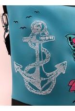 Foldover Skull, Stars, Anchor
