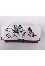 Milow Geldbörse - Lilie mit Schmetterling