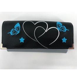 Milow Geldbörse - Zwei Herzen mit zwei Schmetterlingen