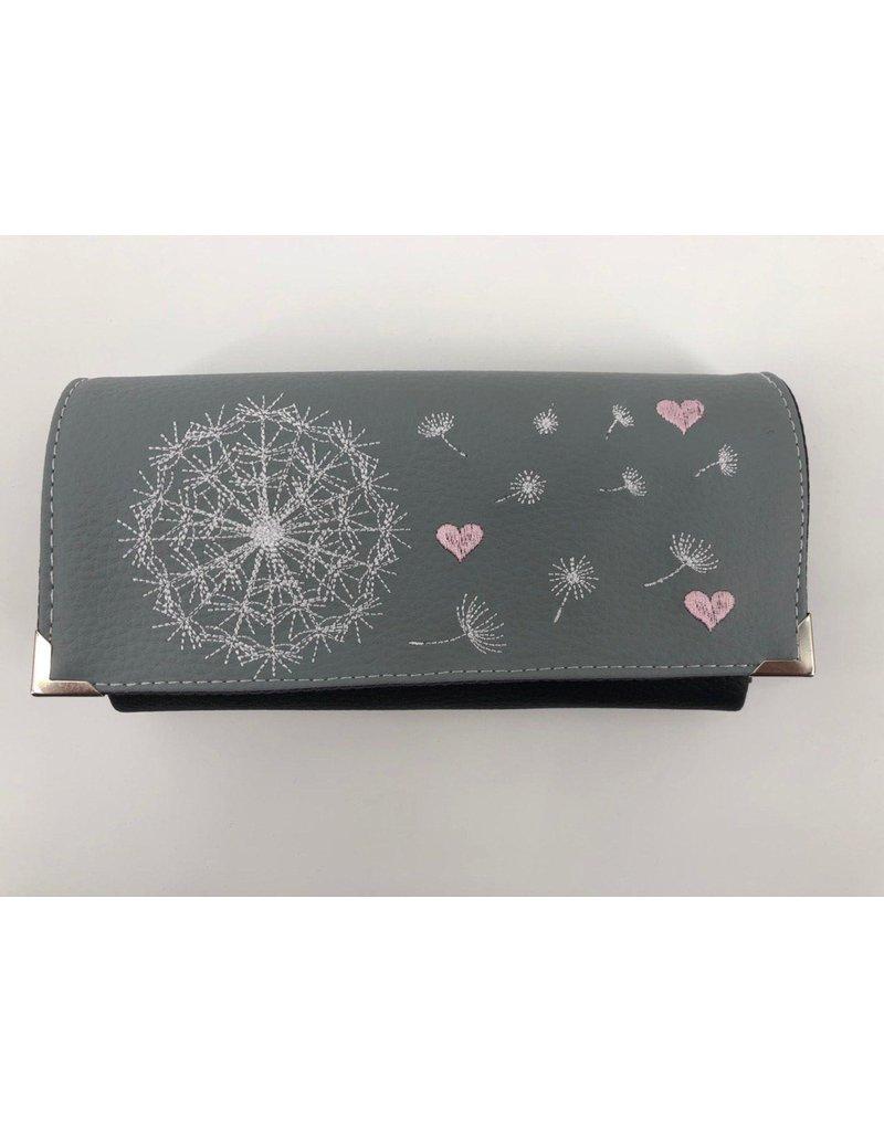 Milow Geldbörse - Pusteblume mit rosa Herzen