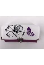 Milow Set - Lilien mit Schmetterlingen inklusive Geldbörse