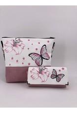 Milow Set - Lilie mit Schmetterling und Sternen inklusive Geldbörse