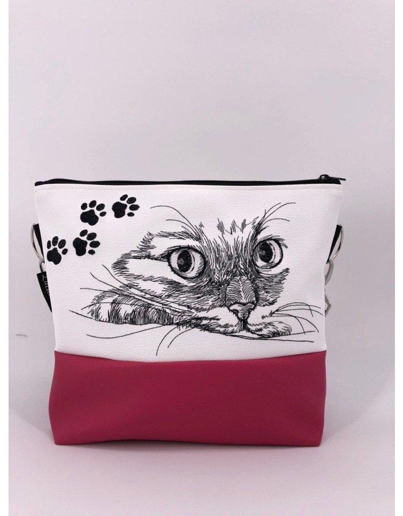 Milow Set - Katze Weiß Pink