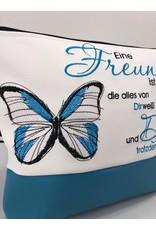 Milow Set - Freundin - mit Schmetterling & Spruch