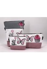 Foldover Set - Elefant mit Cupcake