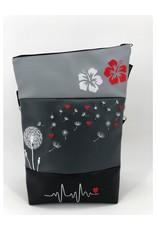 Foldover Set - Pusteblume mit Herzen & Hibiskus