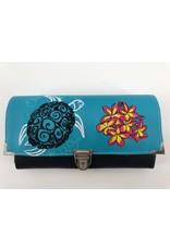 Milow Set - Schildkröte mit Blumen inkl. Geldbörse