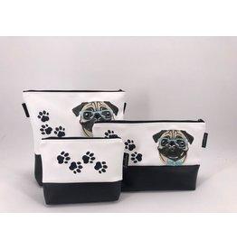 Milow Set - Hund - Mops mit Brille