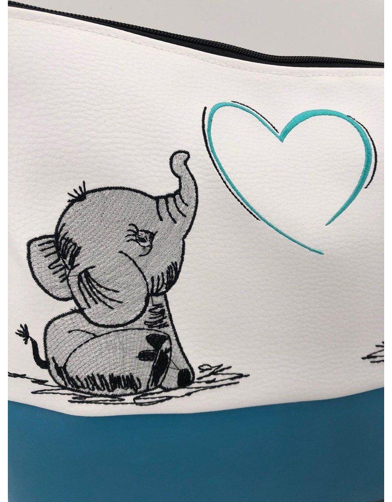 Milow Set - 2 Elefanten mit Herz