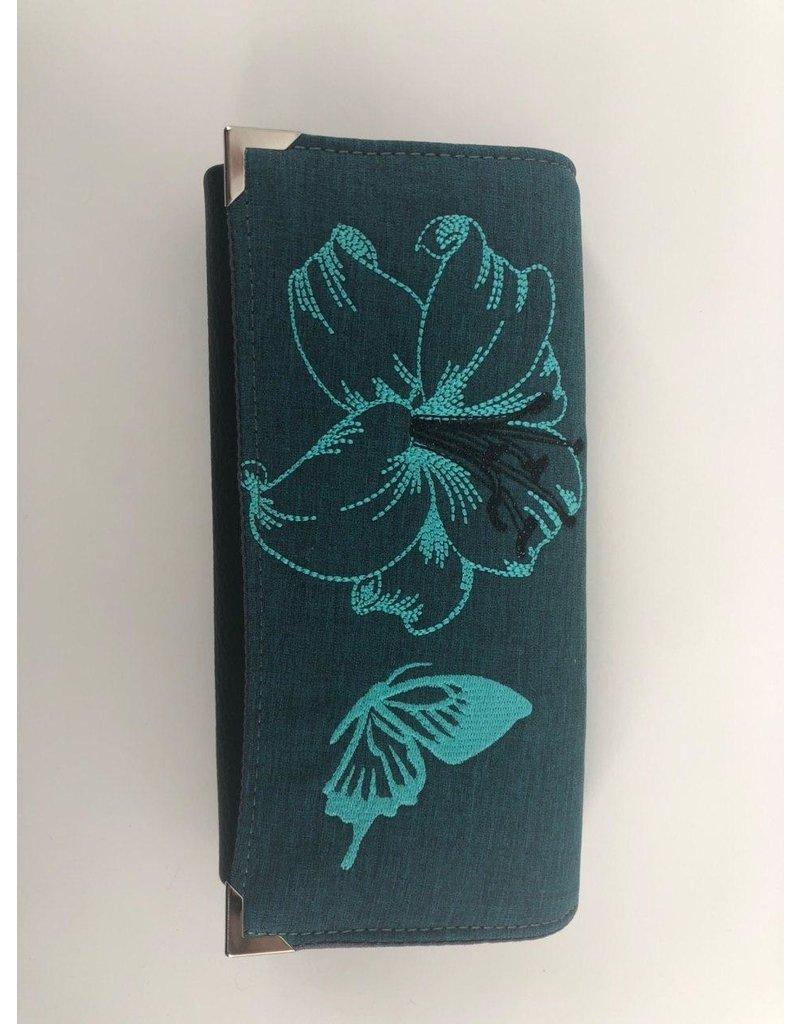 Milow Set - Kolibri mit Lilie  inkl. Geldbörse - Softshell