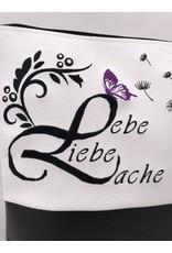 Milow Lebe, Liebe, Lache mit lila Akzent