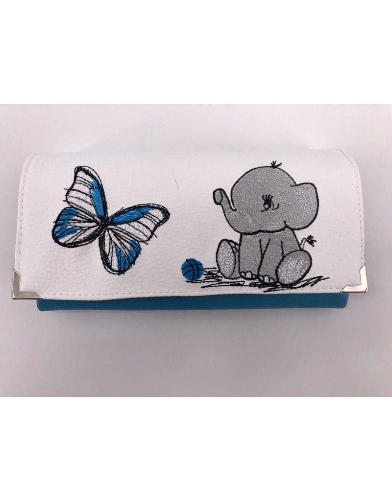 Milow Geldbörse Elefant Schmetterling
