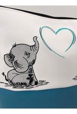 Milow Zwei Elefanten mit Herz