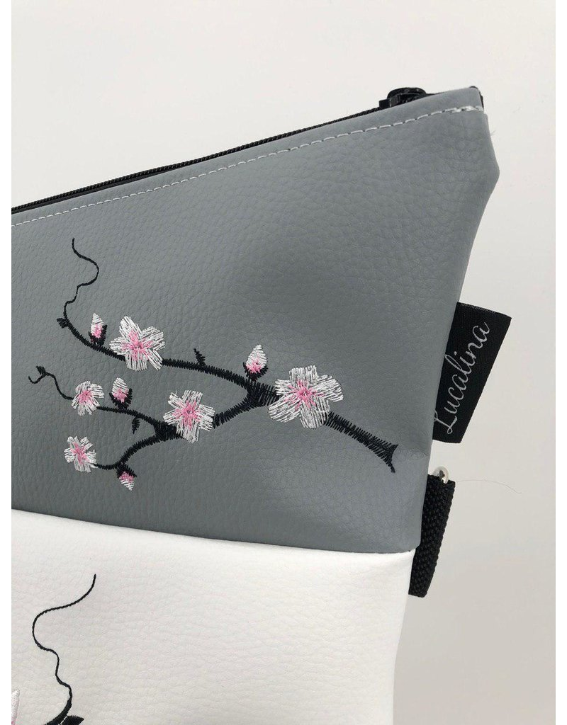Foldover Eule mit Kirschblüte